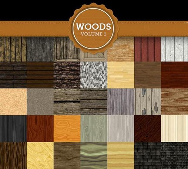 Woods Texture Pack Vol 1