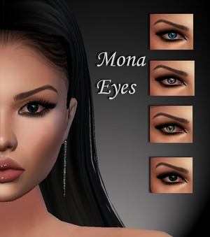 Mona Eyes & Eyebrows