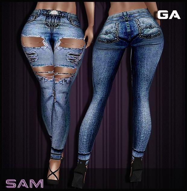 Sam Jeans Blue