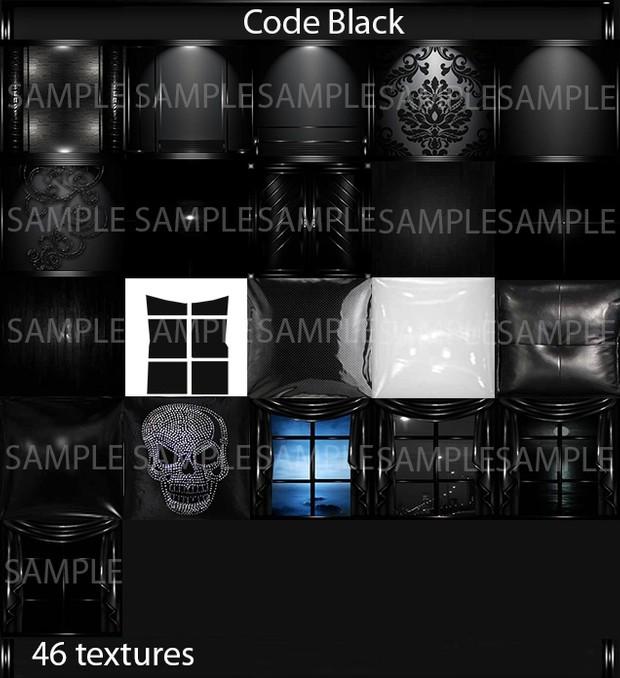 Code Black (46 textures PNG)