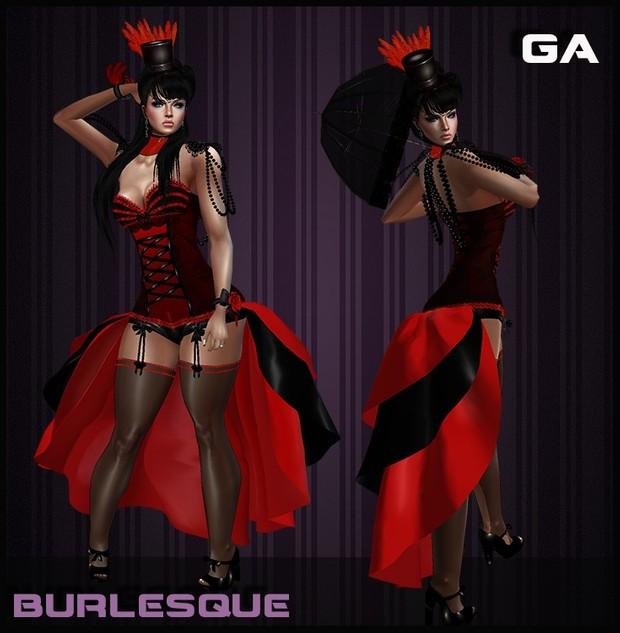 Burlesque Bundle 2 colors