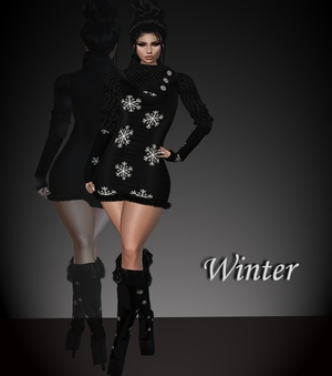 WinterDress & Boots