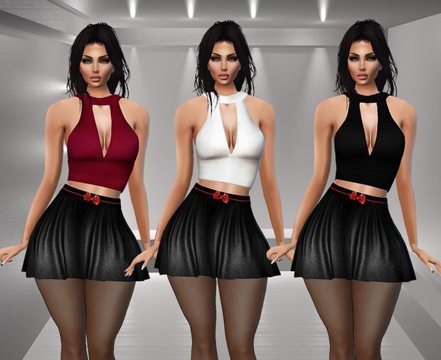 Carla Top & Skirt