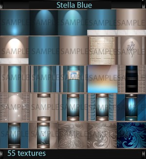 Stella Blue (55 textures PNG)