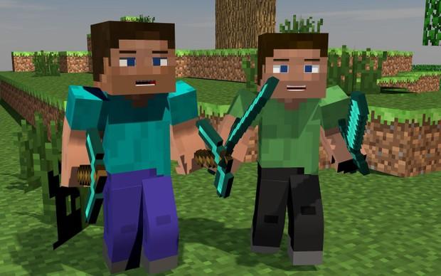 ON SALE Minecraft Steve Rig