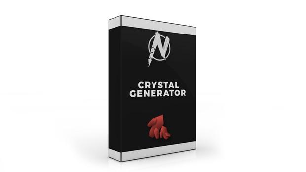 Crystal Generator - Cinema 4D Plugin V1.0