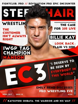 STEELCHAIR Wrestling Magazine #15