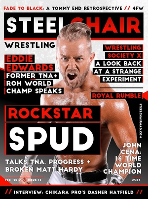 STEELCHAIR Wrestling Magazine #13