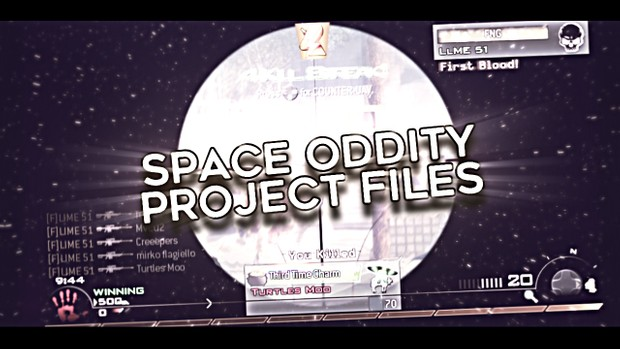 Space Oddity Project Files