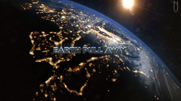 Earth & Moon Pull Away