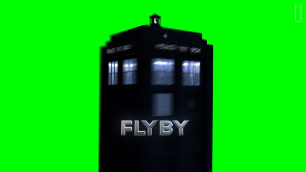 Police Box Flyby