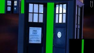 Tardis Green Screen Entrance