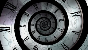 Droste Clock Unravel Jpeg sequence