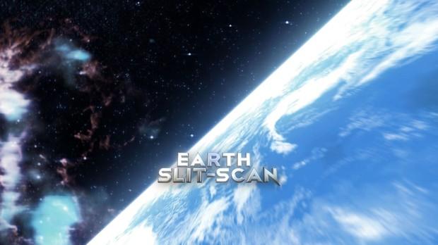 Earth Slit-Scan
