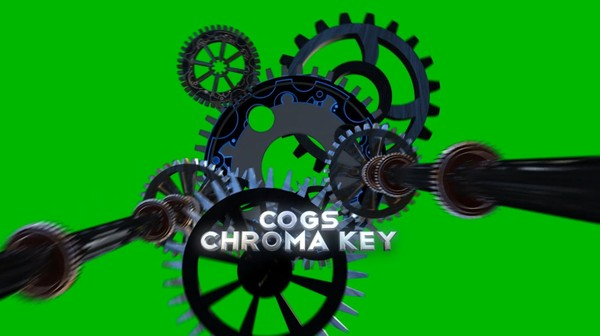 Cogs Chroma Key