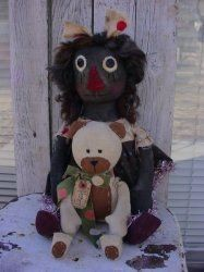 Lola and Honey Bear ePattern