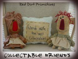 Collectable Friends ePattern