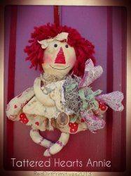 Tattered Hearts Annie ePattern