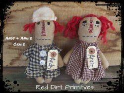Andy & Annie Ornie ePattern