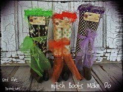 Witch Boots Make Do ePattern