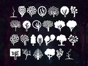 Trees Go Font 2