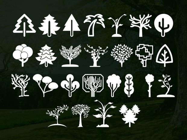 Trees Go Font