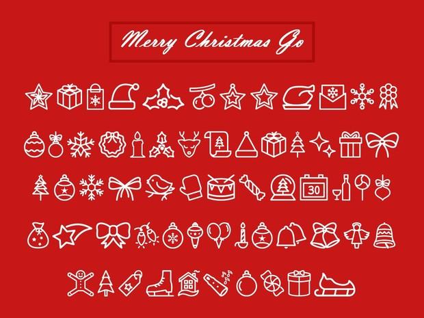 Merry Christmas Go Font