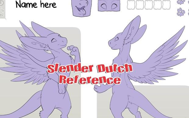 Slender Angel Dragon Reference