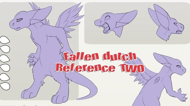 Fallen Angel Dragon Ref TWO