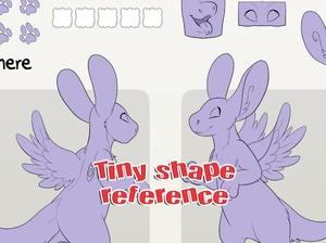 Tiny Shape Angel Dragon Reference