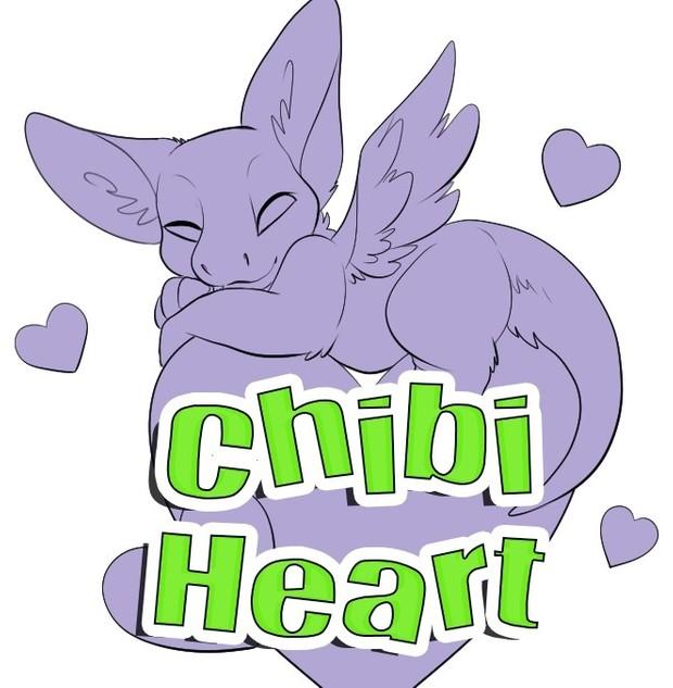 Chibi Heart Template