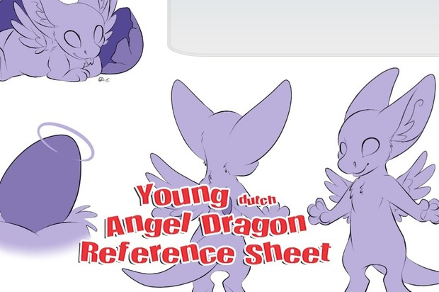 Youngin Angel Dragon Reference Sheet