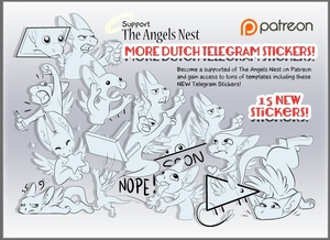 15 Telegram Stickers ( random )
