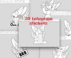 20 Telegram Stickers