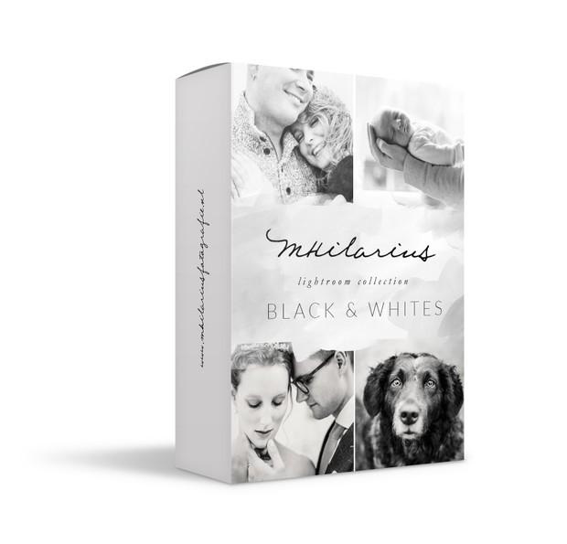 MHTutorials - LR Black & Whites collection