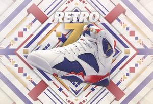 Nike Air Jordan Retro 7 Advertisement (Experimental) PSD