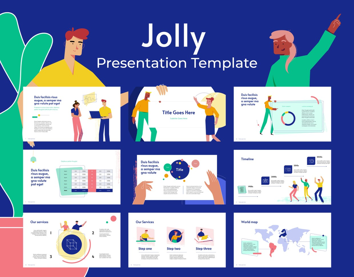 Jolly PPT Template