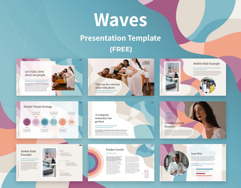 Waves - Keynote Template