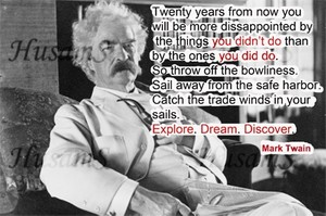 Mark Twain's Picture Quote ( #003 )
