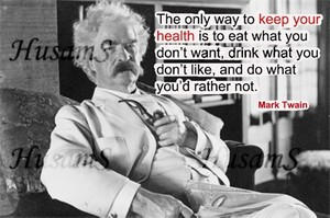 Mark Twain's Picture Quote ( #013 )