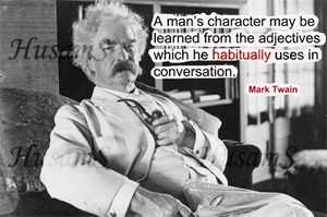 Mark Twain's Picture Quote ( #006 )
