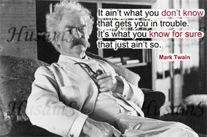 Mark Twain's Picture Quote ( #001 )