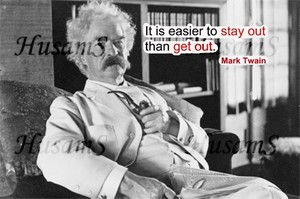 Mark Twain's Picture Quote ( #010 )