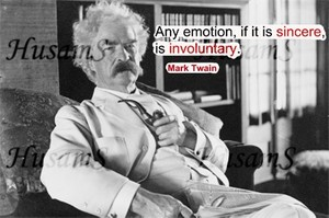 Mark Twain's Picture Quote ( #018 )