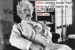 Mark Twain's Picture Quote ( #011 )