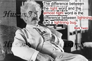 Mark Twain's Picture Quote ( #020 )
