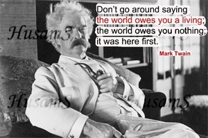 Mark Twain's Picture Quote ( #017 )