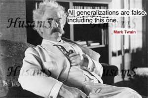 Mark Twain's Picture Quote ( #007 )