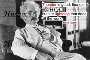 Mark Twain's Picture Quote ( #015 )