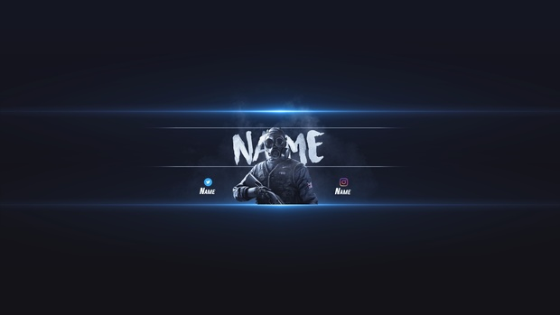 free rainbow six siege yt banner template